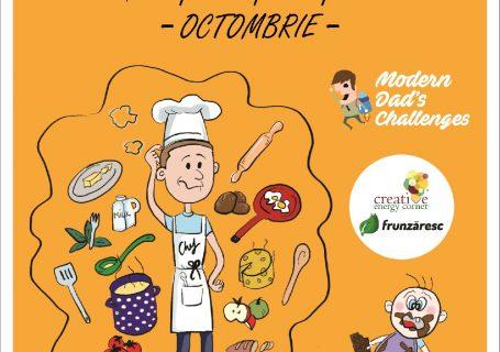La ediția 4 MDC, tații învață despre alimentația copilului pe etape de vârstă