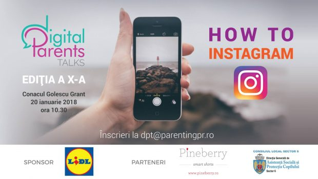 How to instagram Digital Parents Talks