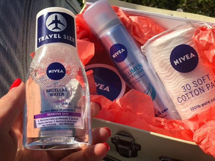 Noua apa micelară Travel Size de la Nivea și mai mult loc în bagaje