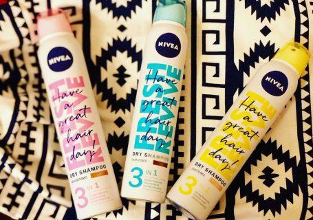 Păr fresh în fiecare zi, cu noile șampoane uscate NIVEA Fresh Revive!