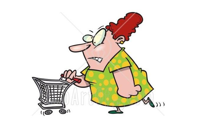 Vreți să mă pedepsiți Trimiteți-mă la shopping!