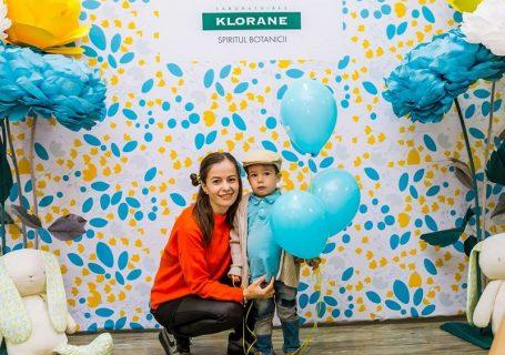 Un eveniment colorat și o nouă gama Klorane Bébé