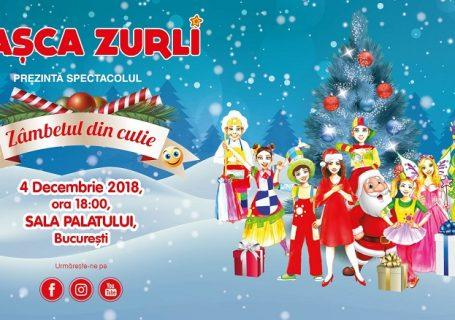 """Super show de Crăciun by Gașca Zurli - """"Zâmbetul din cutie""""!"""
