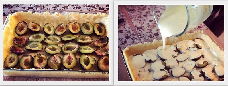 tarta cu prune